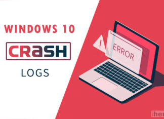 windows crash logs